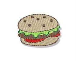 Mini Hamburger embroidery design