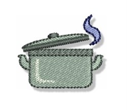 Mini Cooking Pot embroidery design