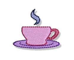 Mini Coffee Cup embroidery design
