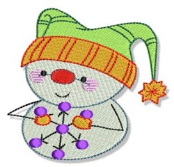 Snowbaby embroidery design