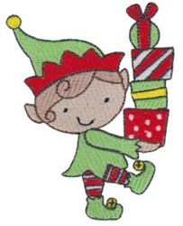 Christmas Elf embroidery design