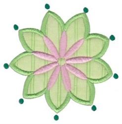 Applique Flower embroidery design