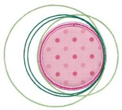 Applique Circles embroidery design