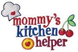 Mommys Kitchen Helper embroidery design