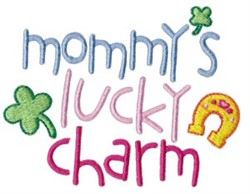 Mommys Lucky Charm embroidery design