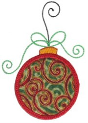 Applique Ornament embroidery design