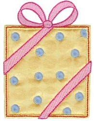 Applique Gift embroidery design