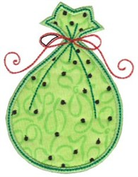 Applique Sack embroidery design