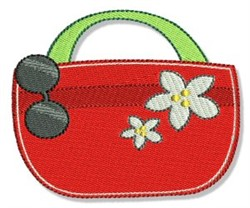 Tropical Tote Bag embroidery design