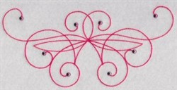Decorative Swirls embroidery design