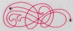 Curly Decoration embroidery design