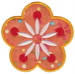 Flowers Applique embroidery design