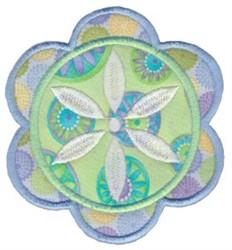 Applique Bloom embroidery design