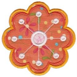 Blossom Applique embroidery design