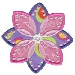 Bloom Applique embroidery design