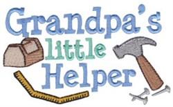Grandpas Helper embroidery design
