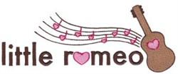 Little Romeo embroidery design