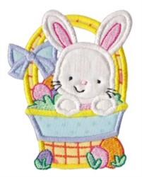 Easter Basket Applique embroidery design
