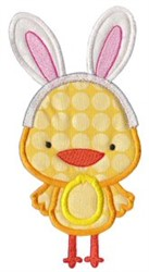 Cute Easter Chick embroidery design