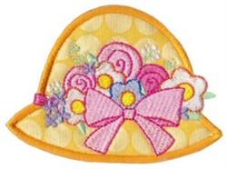 Easter Bonnet Applique embroidery design