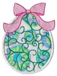 Easter Egg Applique embroidery design