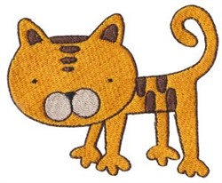 Old MacDonald Cat embroidery design