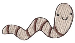 Old MacDonald Worm embroidery design