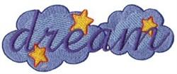Always Dream embroidery design