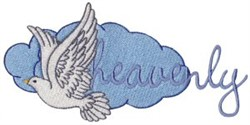Heavenly embroidery design