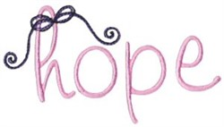 Have Hope embroidery design