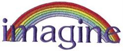 Imagine embroidery design