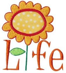 Beautiful Life embroidery design