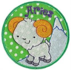 Aries Applique embroidery design