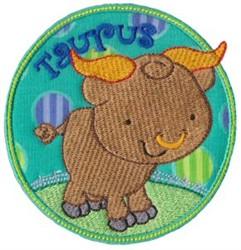 Taurus Applique embroidery design