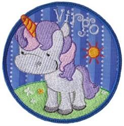Virgo Applique embroidery design
