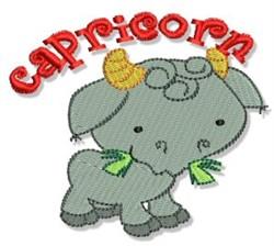 Capricorn Goat embroidery design