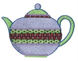 Kitchen Tea Pot embroidery design