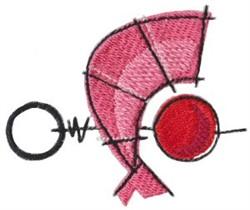 Shrimp Pick embroidery design