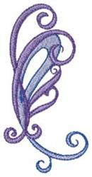 Pretty Blue Paisley embroidery design