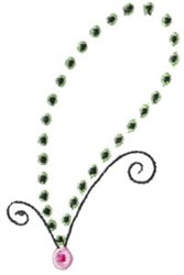 Pretty Paisley Outline embroidery design