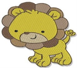 Mighty Jungle Lion embroidery design