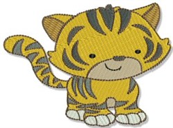 Mighty Jungle Tiger embroidery design