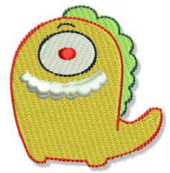 Lil One Eyed Monster embroidery design