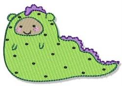 Lil Slug Monster embroidery design