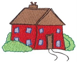 Dinky Doodle Home embroidery design