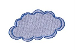 Dinky Doodle Cloud embroidery design
