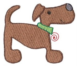 Dinky Doodle Puppy embroidery design