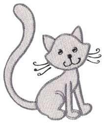Dinky Doodle Kitten embroidery design