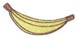 Dinky Doodle Banana embroidery design