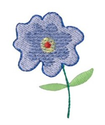 Dinky Doodle Flower embroidery design